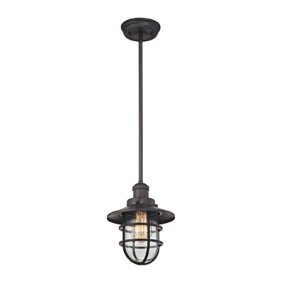 Humphries 1-Light Mini Pendant Finish: Oil Rubbed Bronze