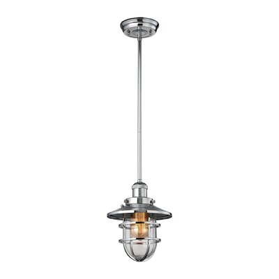Humphries 1-Light Mini Pendant Color: Polished Chrome