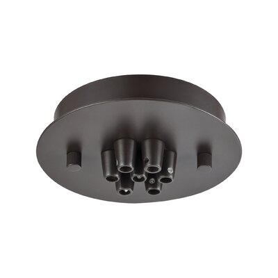 Illuminaire 7-Light Round Canopy Finish: Oil Rubbed Bronze