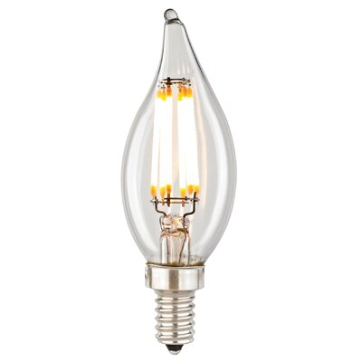 Filament 6 Wattage Candelabra LED Light Bulb