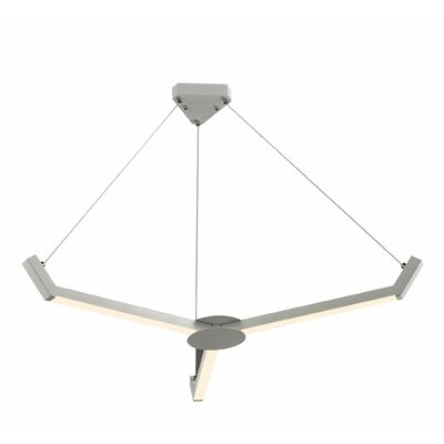 Menahan 3-Light Sputnik Chandelier