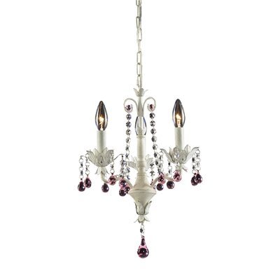 Elise 3-Light Crystal Chandelier