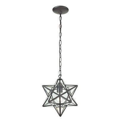 Star 1-Light Foyer Pendant