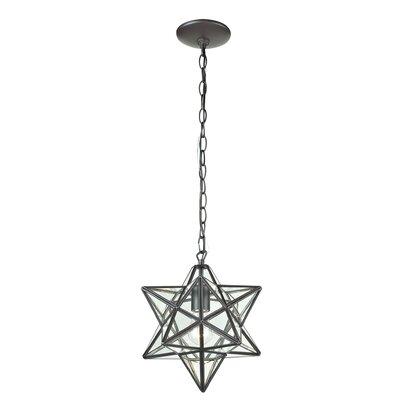 Star 1-Light Foyer Pendant