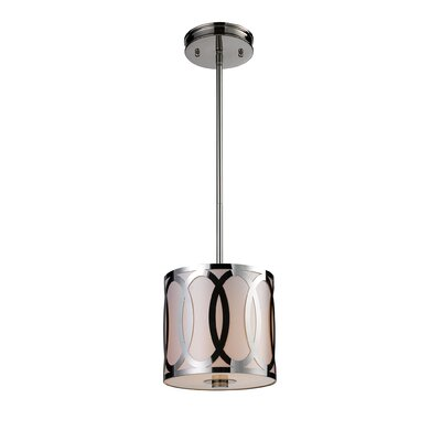 Kohn 1-Light Drum Pendant