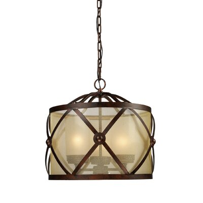 Markley 3-Light Drum Pendant