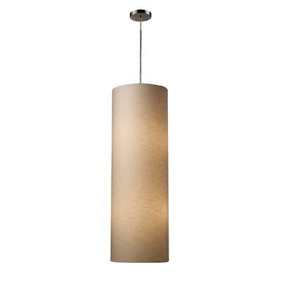 Fabric Cylinders 4-Light Pendant