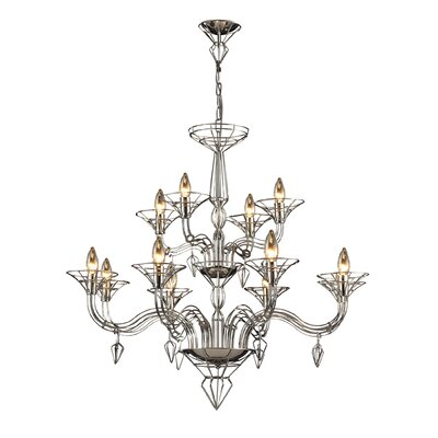 Couture 12-Light Candle-Style Chandelier