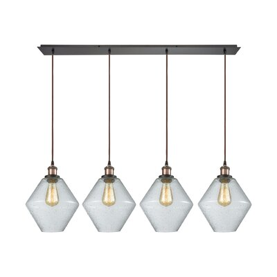 Davisville 4-Light Kitchen Island Pendant