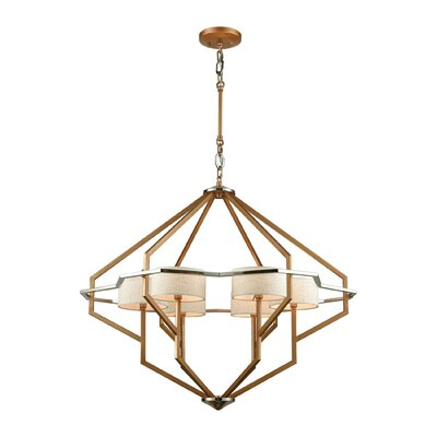 Boykin 6-Light Shaded Chandelier