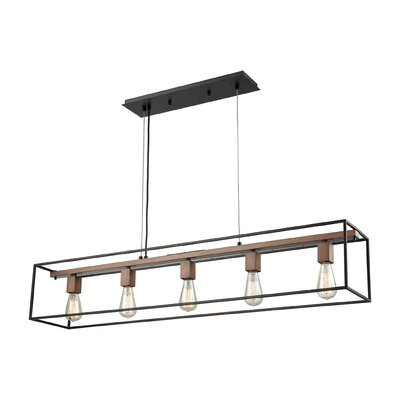 Boggan 5-Light Kitchen Island Pendant