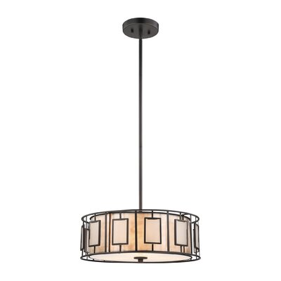 Arleta 3-Light 100W Drum Pendant