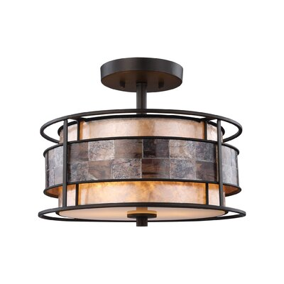 Allison 2-Light Semi Flush Mount