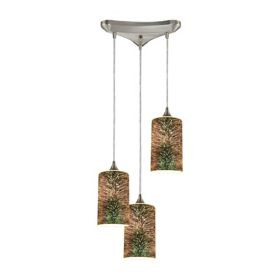 Colophon 3-Light Cascade Pendant