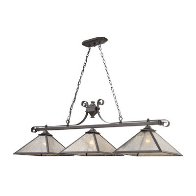 Bryar 3-Light Pool Table Light