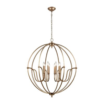 Ellis 8-Light Candle-Style Chandelier