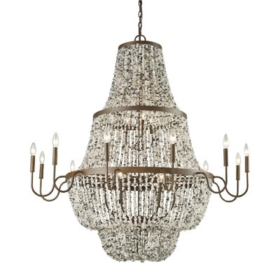 Stanton 21-Light Candle-Style Chandelier