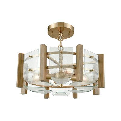 Johna 4-Light Semi Flush Mount
