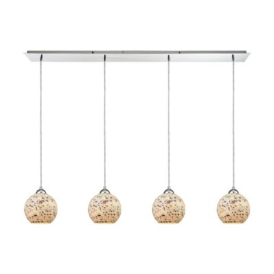 Brigham 4-Light Kitchen Island Pendant