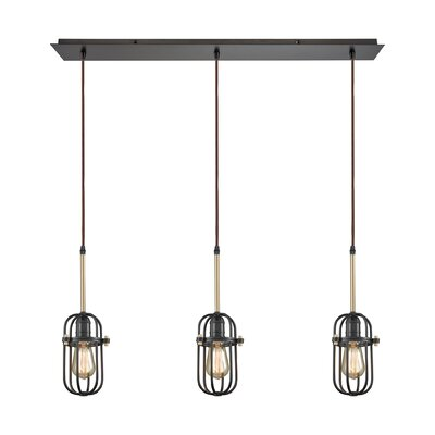 Sosa Modern 3-Light Kitchen Island Pendant