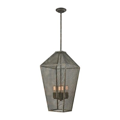 Zonia 4-Light Foyer Pendant