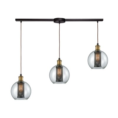 Kristyn 3-Light Kitchen Island Pendant