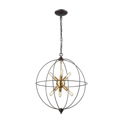 Cogdill 6-Light Foyer Pendant