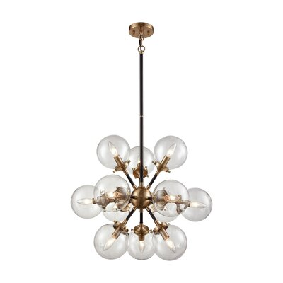 Monaca 12-Light Sputnik Chandelier