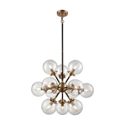 Monaca 12-Light Sputnik Chandelier