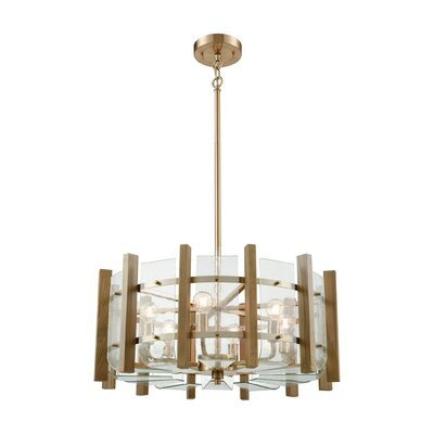 Belaire 6-Light Drum Pendant