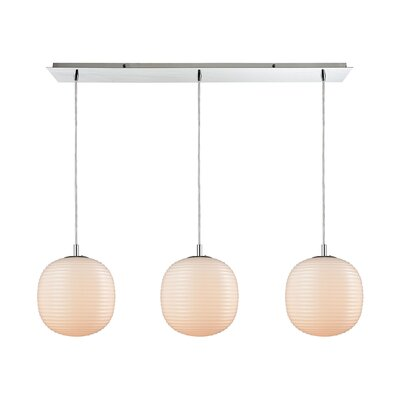Crowder 3-Light Kitchen Island Pendant