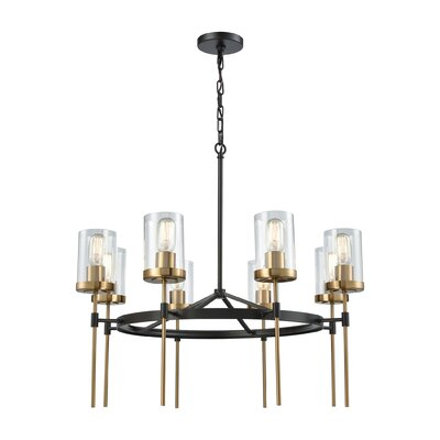 Avilla 8-Light Shaded Chandelier