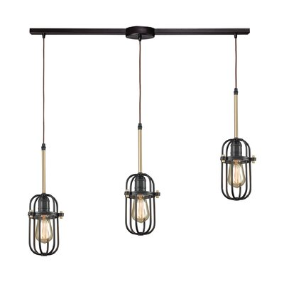 Alycia 3-Light Kitchen Island Pendant