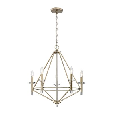 Clontz 5-Light Candle-Style Chandelier