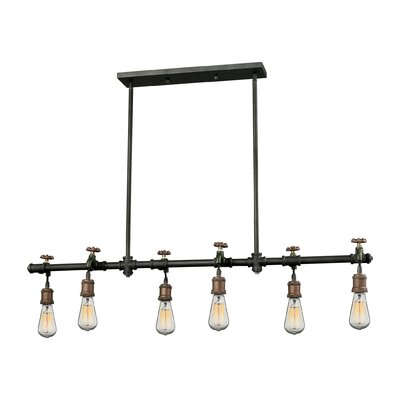 Lizette 6-Light Kitchen Island Pendant