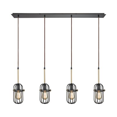 Alycia 4-Light Kitchen Island Pendant