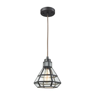 Chapdelaine 1-Light Foyer Pendant