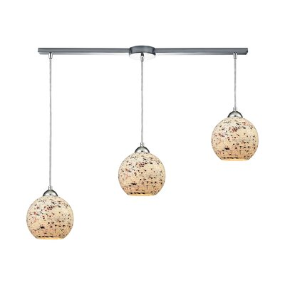 Brigham 3-Light Kitchen Island Pendant