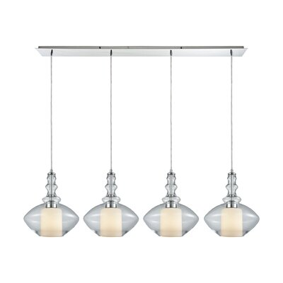 Cabell 4-Light Kitchen Island Pendant