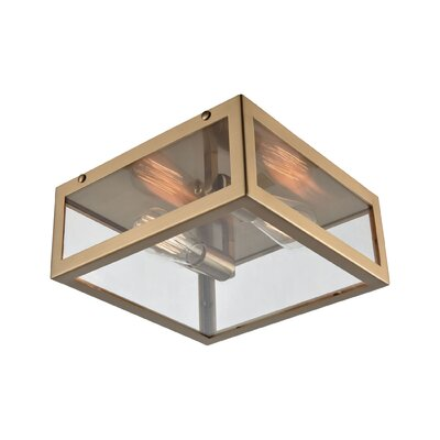 Buzzell 2-Light Flush Mount