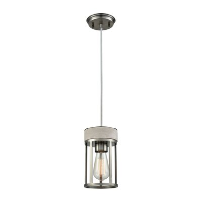 Chamberlan 1-Light Mini Pendant