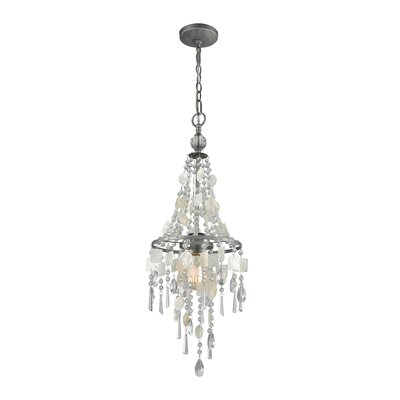 Reid 1-Light Crystal Chandelier