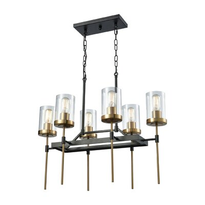 Crewe 6-Light Kitchen Island Pendant
