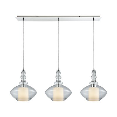 Cabell 3-Light Kitchen Island Pendant