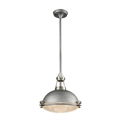 Byron 1-Light Inverted Pendant