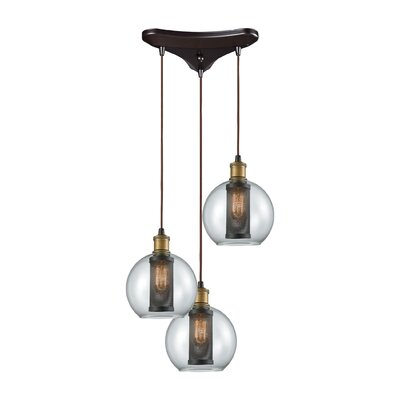 McEwan 3-Light Cascade Pendant
