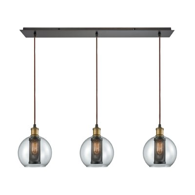 McEwan 3-Light Kitchen Island Pendant