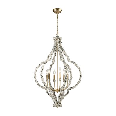 Stanton 6-Light Candle-Style Chandelier