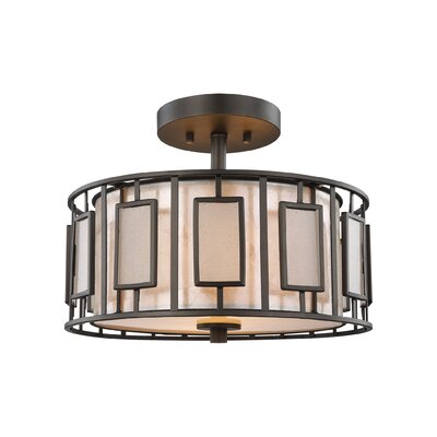 Arleta 2-Light Semi Flush Mount