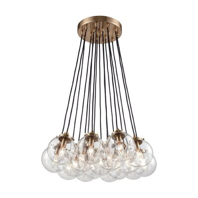 Monaca 17-Light Cluster Pendant